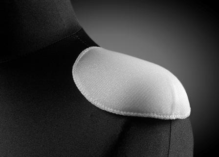 Wkłady barkowe, poduszki barkowe, nakładki na wieszaki – FIBERI bark